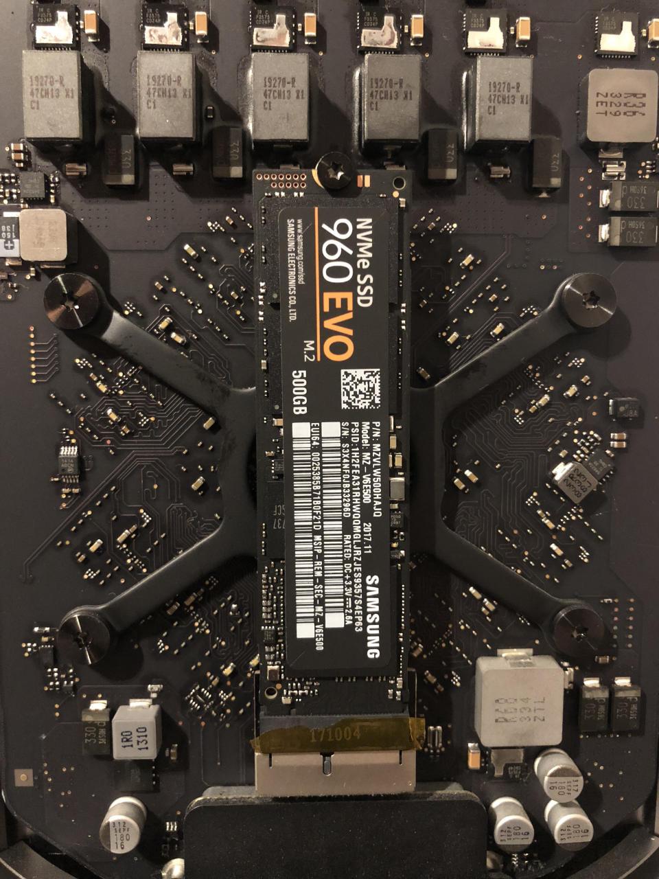 SSD im Mac Pro Late 2013 aufrüsten Update Mojave TwentyMag